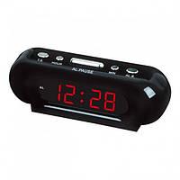 Электронные цифровые настольные часы VST-716-1-AT