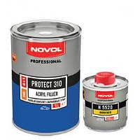 Акриловый грунт Novol Protect 310, HS 4:1, белый, 1 л + 0,25 л отвердитель