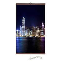 """Інфрачервоний настінний обігрівач-картина"""" Гонконг"""""""