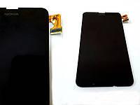 Модуль для Nokia 630 Lumia/ 635/ 636/ 638 (RM-974) (Дисплей + тачскрин), чёрный, оригинал
