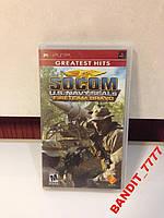 """PSP Game""""SOCOM""""U.S.Havy Seals Firetiam"""