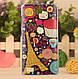 Эксклюзивный чехол для Huawei Honor 3C с рисунком Три жирафа, фото 5