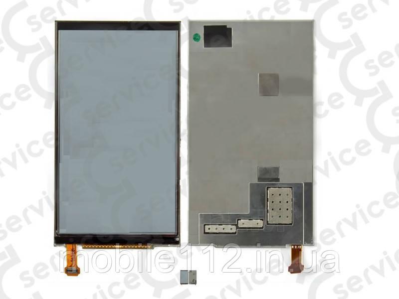 Дисплей для Nokia E7-00 с металлической рамкой