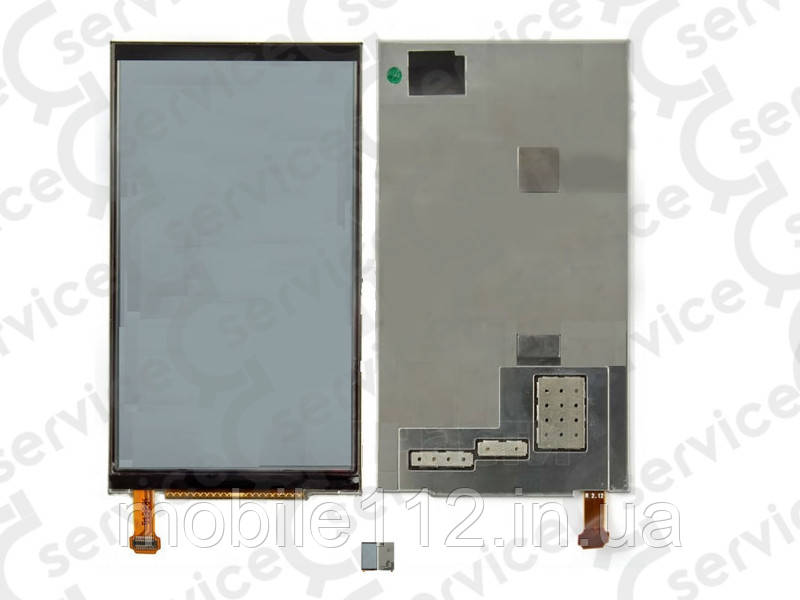 Дисплей для Nokia E7-00, оригинал (Китай) с металлической рамкой
