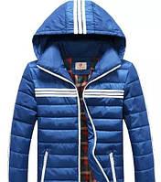 Мужская  куртка с капюшоном 6587