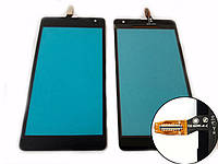 Тачскрин для Microsoft 535 Lumia Dual Sim (CT2C1607FPC-A1-E), чёрный