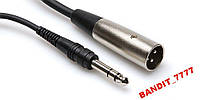 Audi Cable STX110M 14 TRS to XLR Male Cable - 10 F
