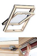Мансардні вікна VELUX OPTIMA GZR 3050B MR06 (780х1180) + Водонепроникний комір (780х1180)