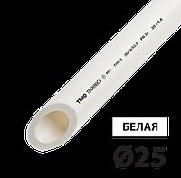 Труба полипропилен PN20 д25 TEBO белая 4/80 м, фото 1