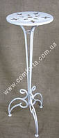 Свадебная подставка для цветочных композиций, высота ~ 94 см, диаметр (блюдца) ~ 29 см, свадебная стойка