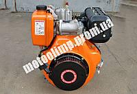 186FЕ ВИТЯЗЬ (ТАТА) двигатель дизель 9 л.с (с электростартером) на мотоблок