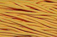 Шнур 5мм с наполнителем (200м) желтый  , фото 1