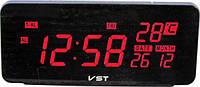 Электронные цифровые настольные часы VST-763W-1