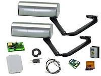 Комплект электромеханических рычажных приводов для распашных ворот бытового применения 390