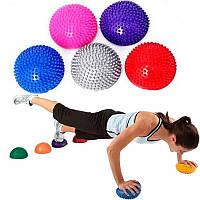 Полусфера массажная балансировочная Balance Kit Zelart FI-4939