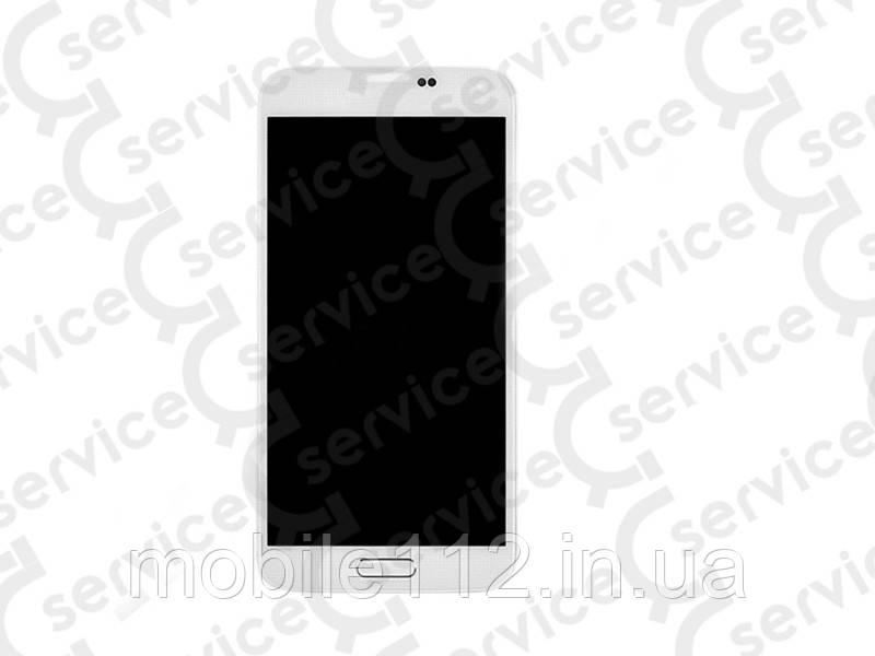 Дисплей для Samsung G800H Galaxy S5 mini/ G800F + touchscreen , белый, оригинал (Китай)