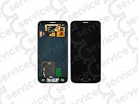 Дисплей для Samsung G800H Galaxy S5 mini/ G800F + touchscreen, чёрный, оригинал (Китай) rev:7.4