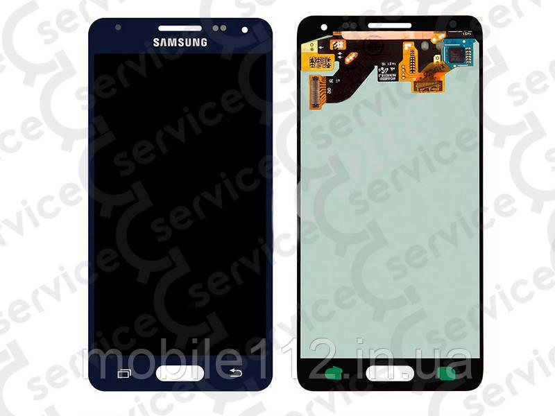 Дисплей для Samsung G850F Galaxy Alpha + touchscreen, чёрный, оригинал (Китай)