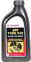 Трансмиссионное масло для АКПП TOYOTA  ATF Type T-IV 0,946л
