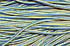 Шнур 5мм с наполнителем (200м) василек+желтый