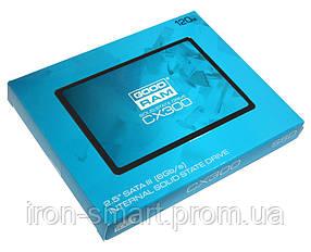 Твердотельный накопитель 120Gb, Goodram CX300, SATA3, 2.5', TLC, 560/500 MB/s (SSDPR-CX300-120)