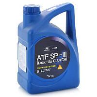 Трансмиссионное масло для АКПП Hyundai Kia ATF SP III 4л