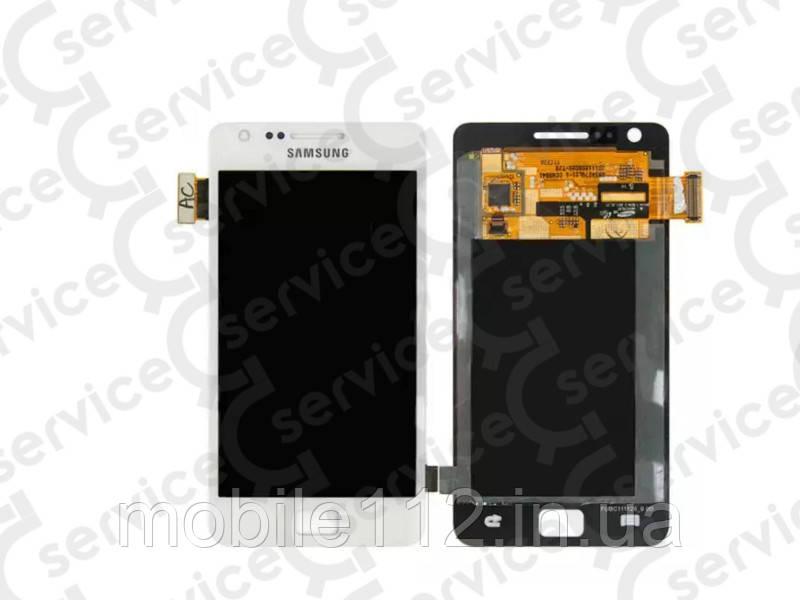 Дисплей для Samsung i9100 Galaxy S2 + touchscreen, белый