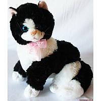 Мягкая игрушка Кот черно-белый 25 см №58