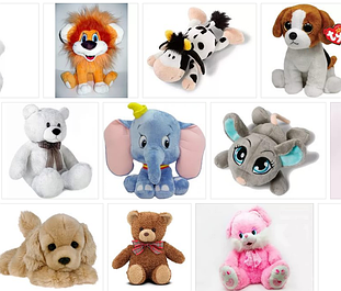 Мягкие игрушки Украина (Золушка)