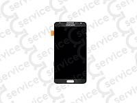 Дисплей для Samsung N7502 Galaxy Note 3 Neo Duos + touchscreen, серый, оригинал (Китай)