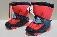 Зимние сапоги Демар на мальчика, детская зимняя обувь тм Demar р.22-23