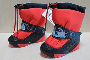 Зимние сапоги Демар на девочку, детская зимняя обувь тм Demar р.22-23