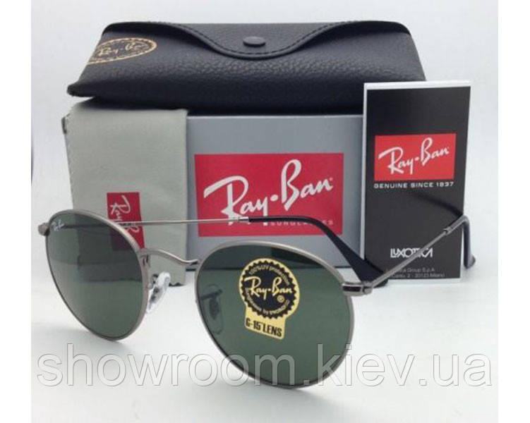 Мужские солнцезащитные очки в стиле RAY BAN 3447 003 LUX
