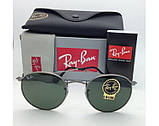 Мужские солнцезащитные очки в стиле RAY BAN 3447 029 LUX, фото 2