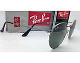 Мужские солнцезащитные очки в стиле RAY BAN 3447 029 LUX, фото 4