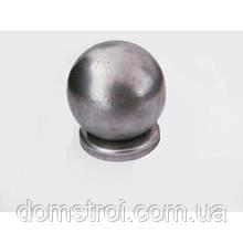 Круглая металлическая заглушка Ø60 с шаром Ø60