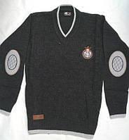 Пуловер вязанный для мальчика 10-11, 12-13, 14-15 лет