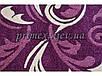 """Рельефный ковер, дороржка Радуга """"Перышки"""", цвет фиолетовый, фото 6"""