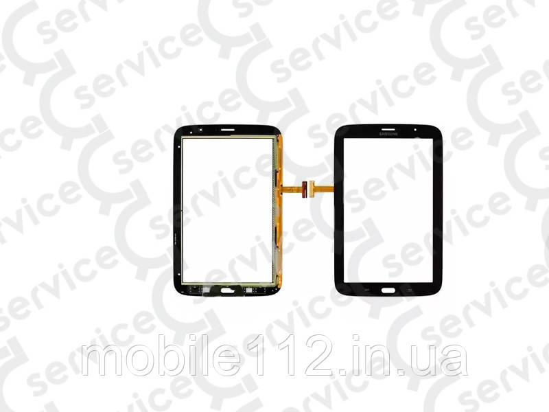 Тачскрин для Samsung N5100 Galaxy Note 8.0, (версия 3G), чёрный, оригинал (Китай)