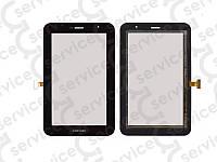 "Тачскрин для Samsung P6200 Galaxy Tab Plus 7.0""/ P6210, чёрный, оригинал (Китай)"