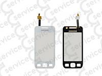 Тачскрин для Samsung S5250 Wave 525/ S5750 Wave 575, белый big ic(5mm)/ small ic(4mm)