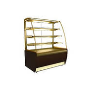 Кондитерская холодильная витрина ВХСв-1,3 д Carboma