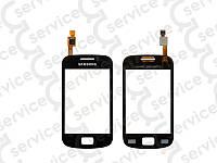 Тачскрин для Samsung S6500 Galaxy Mini 2, чёрный