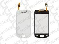 Тачскрин для Samsung S6500 Galaxy Mini 2, белый, оригинал (Китай)