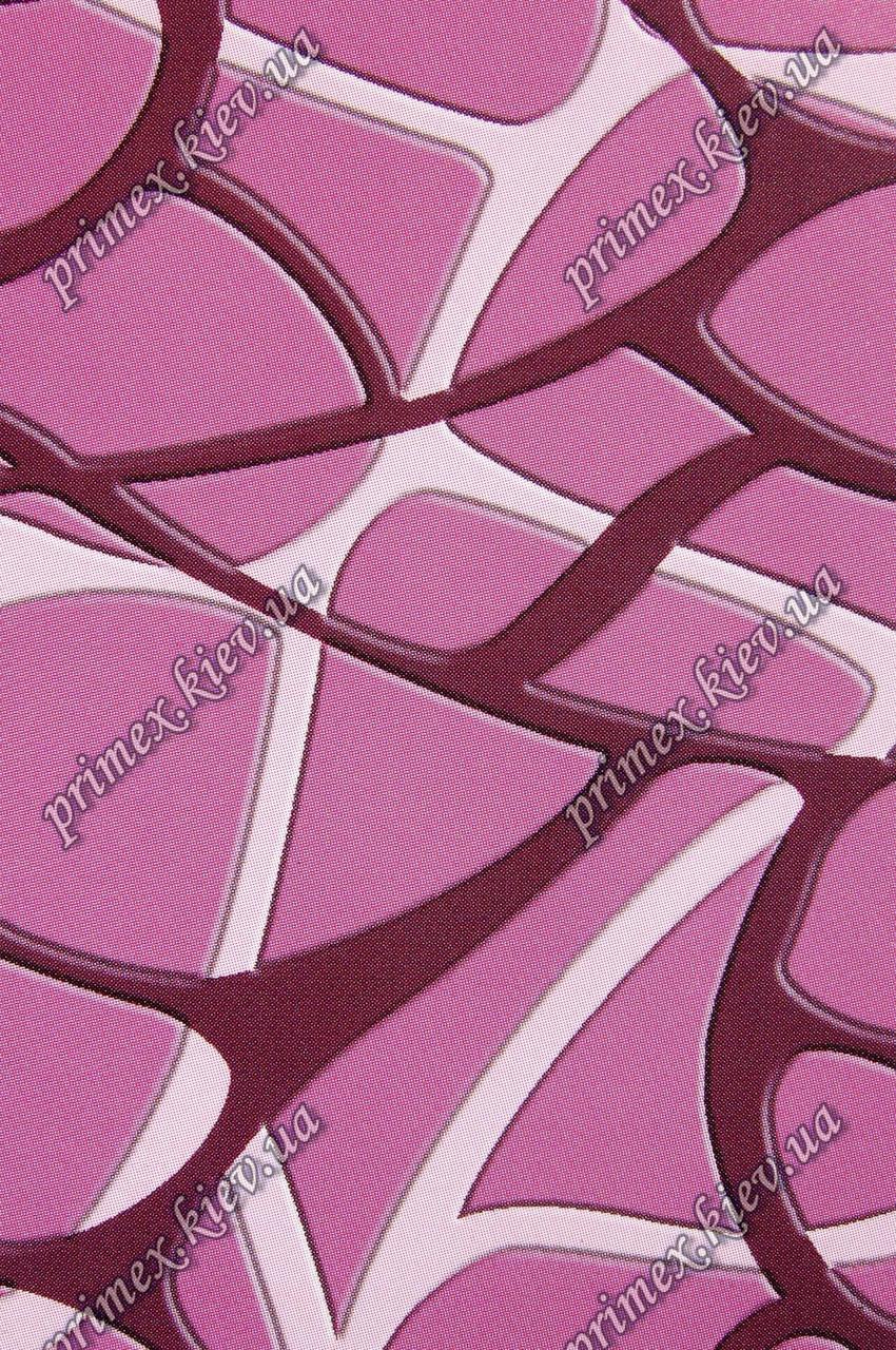 """Рельефный ковер, дорожка Радуга """"Лабиринт"""", цвет темно-розовый"""