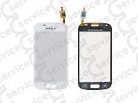 Тачскрин для Samsung S7562 Galaxy S Duos/ S7560 Galaxy Trend, белый, оригинал (Китай) big ic(6mm)/ small ic(5mm)