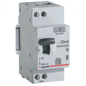 Дифференциальный автомат RX3 1п+N 10A 30мА С АС