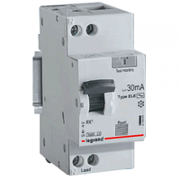 Дифференциальный автомат RX3 1п+N 16A 30мА С АС