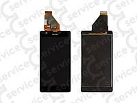 Дисплей для Sony C5502 M36h Xperia ZR/ C5503 M36i + touchscreen, чёрный