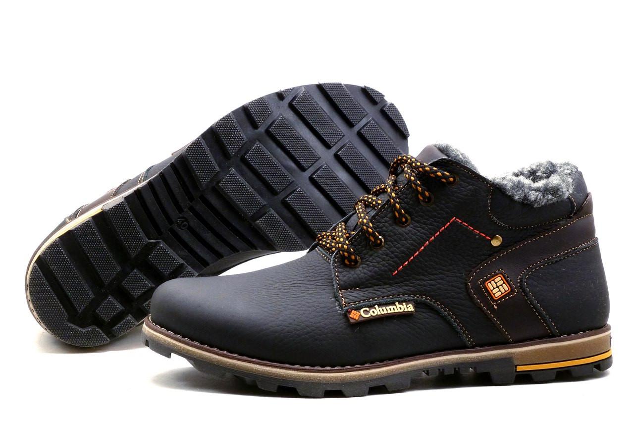 Купить Мужские зимние кожаные ботинки Columbia Flotar (реплика ... af3c32d3d8c